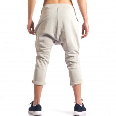 Pantaloni baggy bărbați FCSM bej it260416-36 3