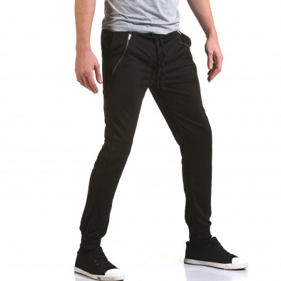Pantaloni bărbați Eadae Wear negru it090216-55 4
