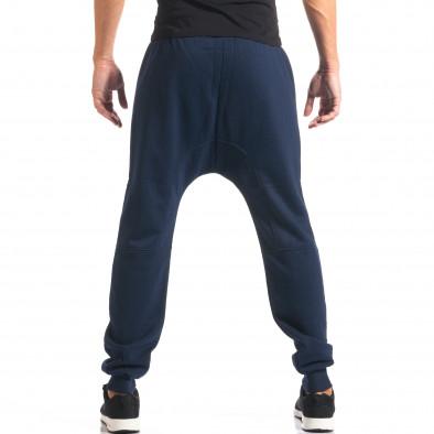 Pantaloni baggy bărbați Marshall albaștri it160816-21 3