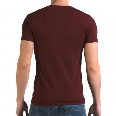 Tricou bărbați Lagos roșu il120216-14 3