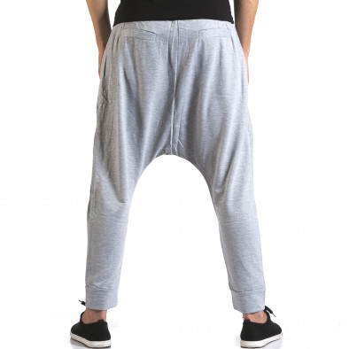 Pantaloni baggy bărbați Dress&GO gri it110316-3 3