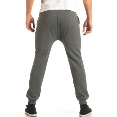 Pantaloni baggy bărbați Charman gri it191016-14 3