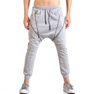 Pantaloni baggy bărbați Devil Slayer gri ca050416-49 2