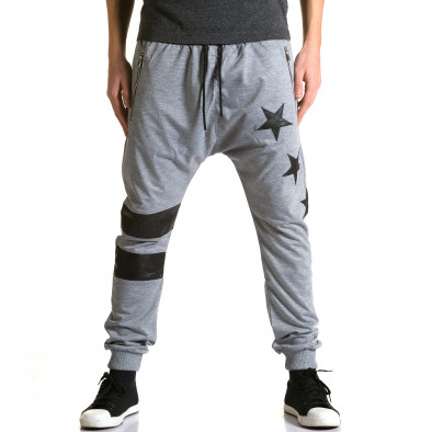 Pantaloni baggy bărbați Jack Davis gri ca190116-20 2