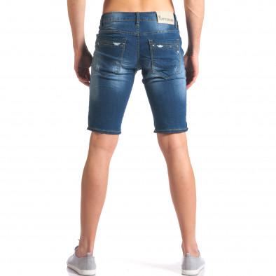 Blugi scurți bărbați Yan's Jeans albaștri it250416-32 3