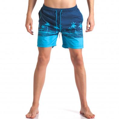 Costume de baie bărbați Austar Jeans albastru it250416-41 2