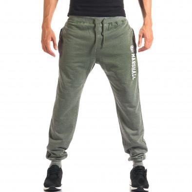 Pantaloni sport bărbați Marshall verde it160816-12 2