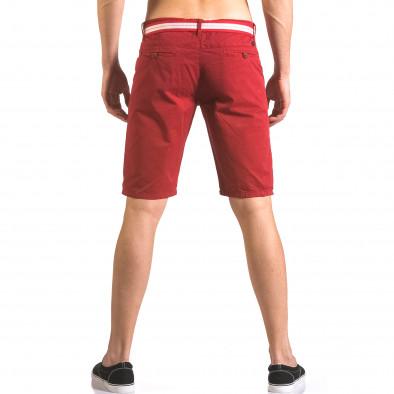 Pantaloni scurți bărbați Top Star roșii ca050416-67 3