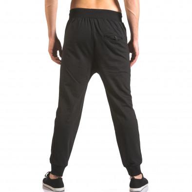 Pantaloni baggy bărbați B-Men negri ca050416-51 3