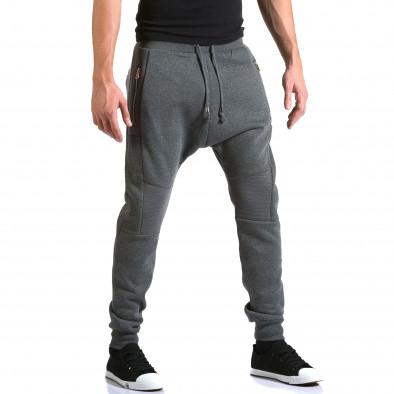 Pantaloni baggy bărbați New Star gri it211015-55 4