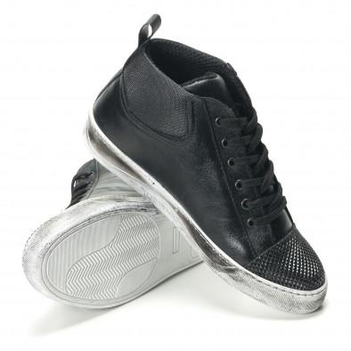 Teniși bărbați Shoes in Progress negri it140916-26 4