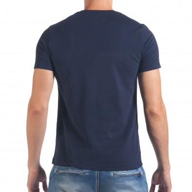Tricou bărbați Just Relax albastru il060616-17 3
