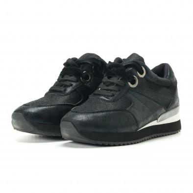 Pantofi sport de dama Melissa neagră it200917-24 3