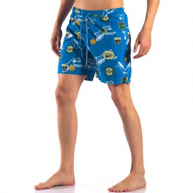Costume de baie bărbați Austar Jeans albastru it150616-24 4