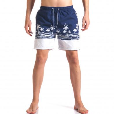 Costume de baie bărbați Austar Jeans albastru it250416-42 2