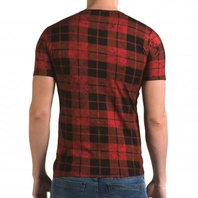 Tricou bărbați Lagos roșu il120216-49 3