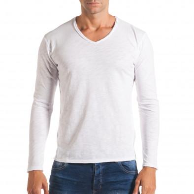Bluză bărbați Y-Two albă it180816-3 2