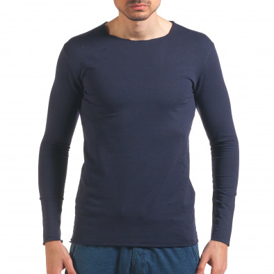 Bluză bărbați Wilfed albastră it250416-81 2