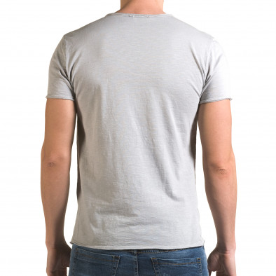 Tricou bărbați FM gri it090216-77 3
