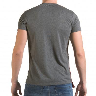 Tricou bărbați SAW gri il170216-62 3