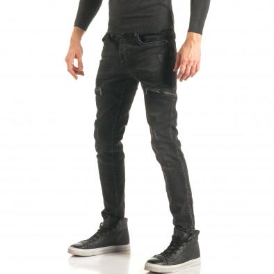 Blugi bărbați Always Jeans negri it181116-61 4