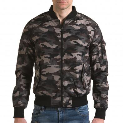 Jachetă de primăvară-toamnă Baci & Dolce verde bărbați it230216-1 2