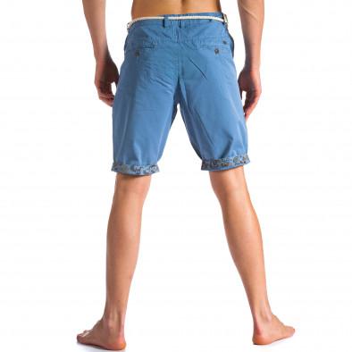 Pantaloni scurți bărbați Tony Moro albaștri ca090514-8 2