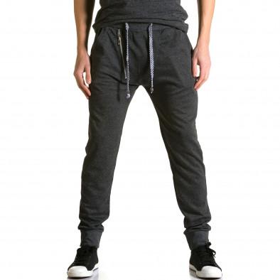 Pantaloni baggy bărbați Furia Rossa negri ca190116-16 2