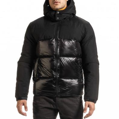 Geacă de iarnă bărbați Duca Homme neagră it301020-8 2