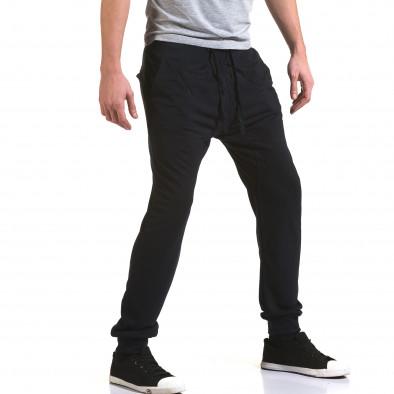 Pantaloni baggy bărbați Dress&GO albaștri it090216-40 4