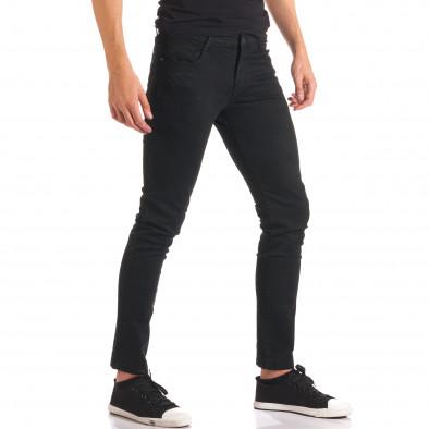 Pantaloni bărbați G-9 negri it150816-3 4
