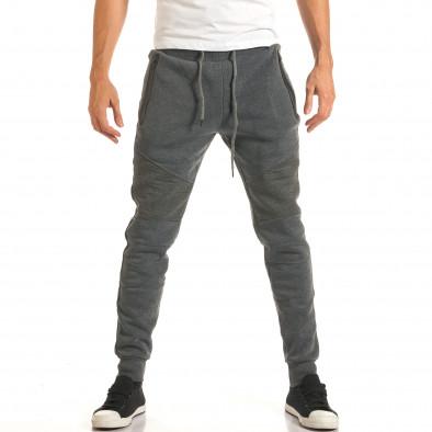 Pantaloni bărbați Top Star gri it191016-3 2