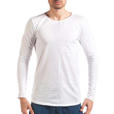 Bluză bărbați Black Fox albă it250416-75 2
