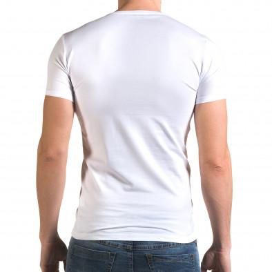 Tricou bărbați Lagos alb il120216-50 3