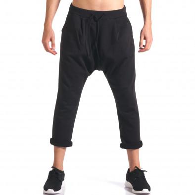 Pantaloni baggy bărbați FCSM negri it260416-35 2