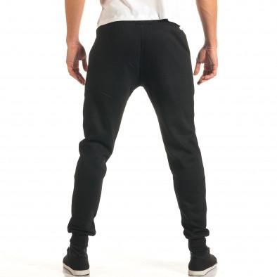 Pantaloni bărbați New Mentality negru it191016-17 3