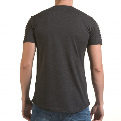 Tricou bărbați Click Bomb gri il170216-72 3