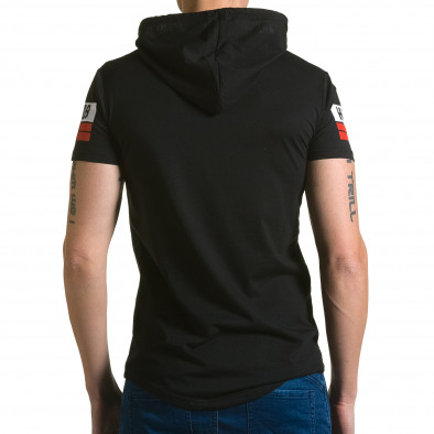 Tricou bărbați Belman negru ca190116-41 3