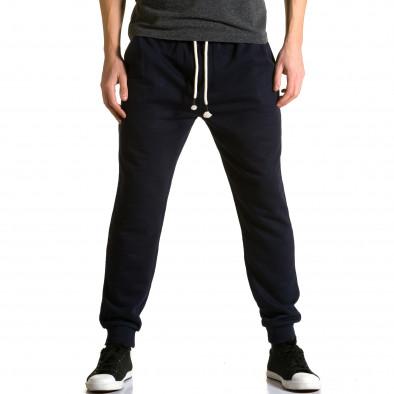 Pantaloni baggy bărbați Enos albaștri ca190116-32 2