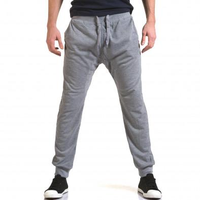 Pantaloni baggy bărbați Dress&GO gri it090216-38 2