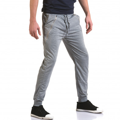 Pantaloni bărbați Eadae Wear gri it090216-53 4