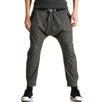 Pantaloni baggy bărbați Max & Jenny gri ca190116-23 2