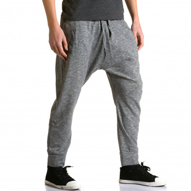 Pantaloni baggy bărbați Max & Jenny gri ca190116-22 4
