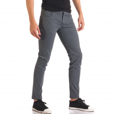 Pantaloni bărbați G-9 gri it150816-1 4
