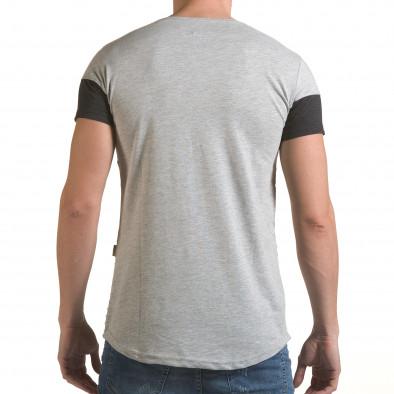 Tricou bărbați Click Bomb gri il170216-73 3