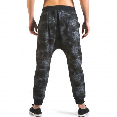 Pantaloni baggy bărbați Vestiti Delle Nuvole negri it160316-8 3