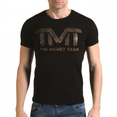 Tricou bărbați Glamsky negru il120216-64 2