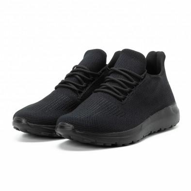 Adidași All black pentru bărbați model ușor it140918-16 3