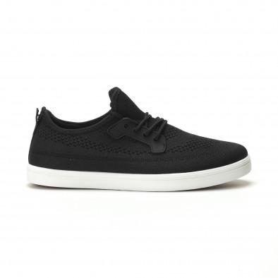 Pantofi sport ușori în negru pentru bărbați it250119-14 2