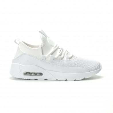 Adidași albi Air de bărbați model ușor it250119-28 2